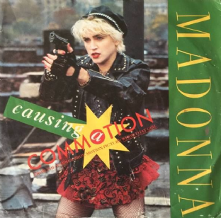 "Madonna ‎- Causing A Commotion (7"") (VG/G)"